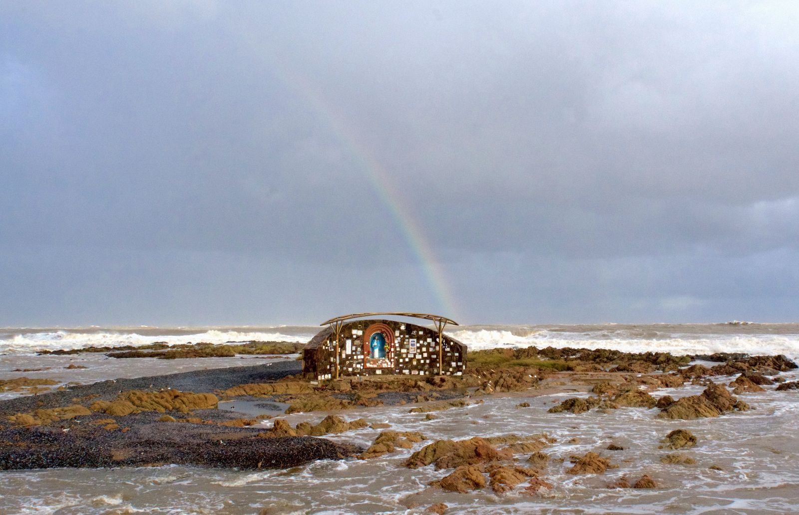punta-del-este-virgin-mary-building-in-storm-uruguay