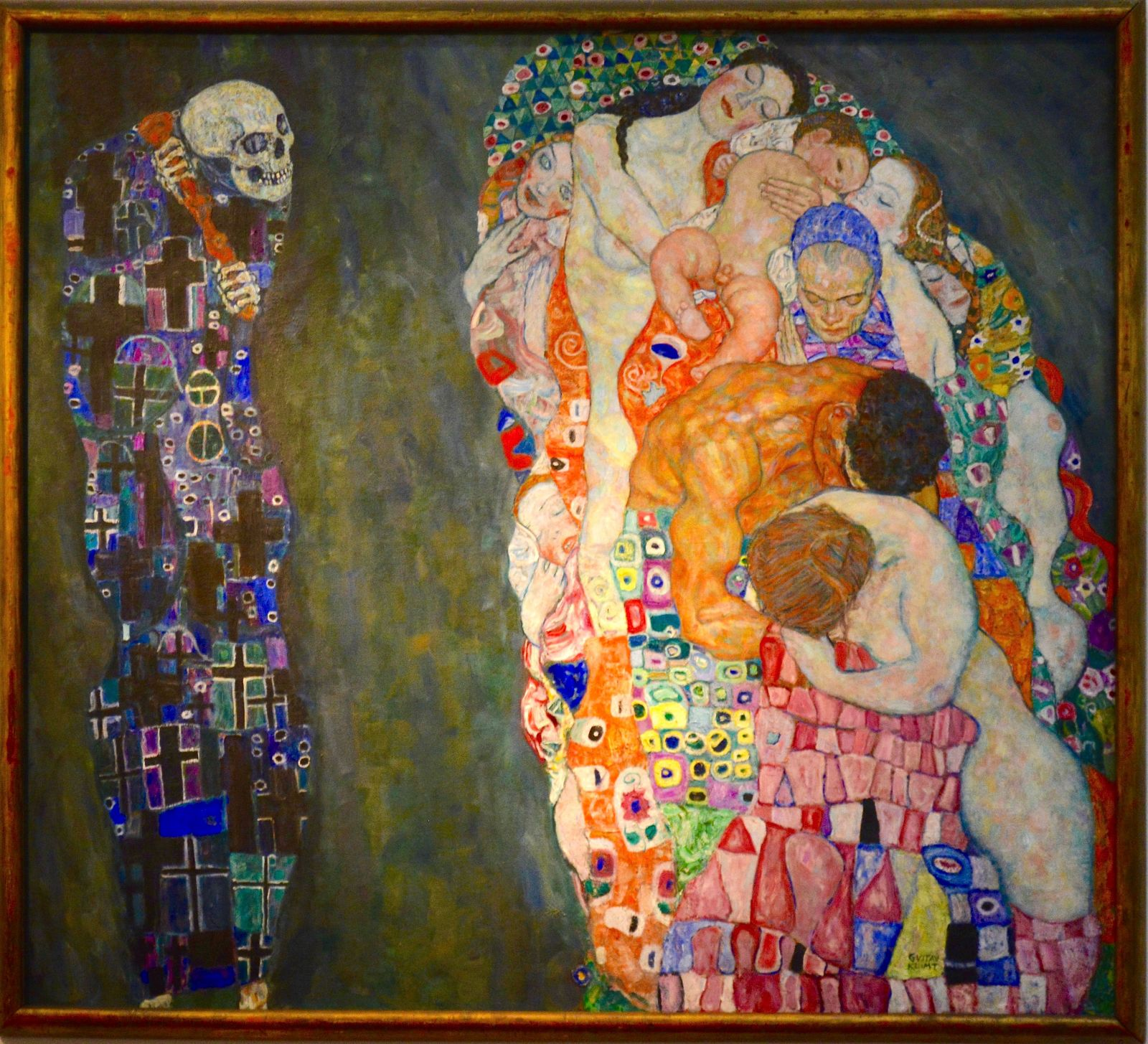 death-and-life-klimt-leopold-museum-vienna