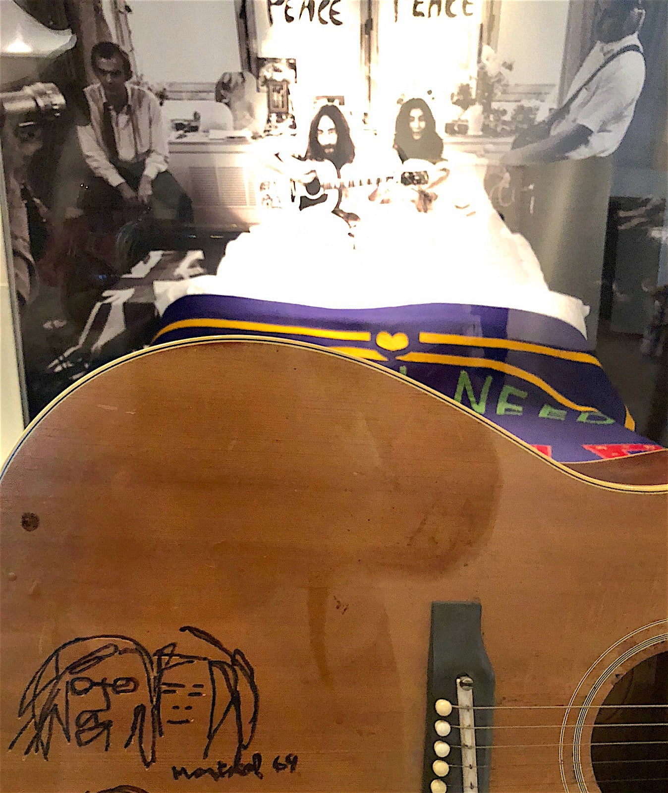 john-lennon-yoko-ono-bed-museum-of-liverpool