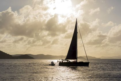 sunset sail bvi