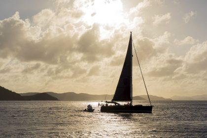sunset sail bvi