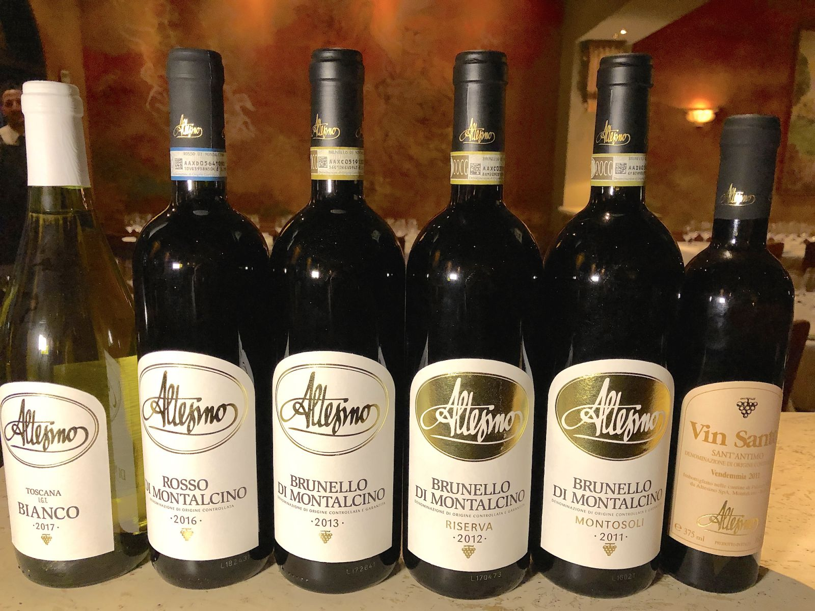 altesino-wine-lineup