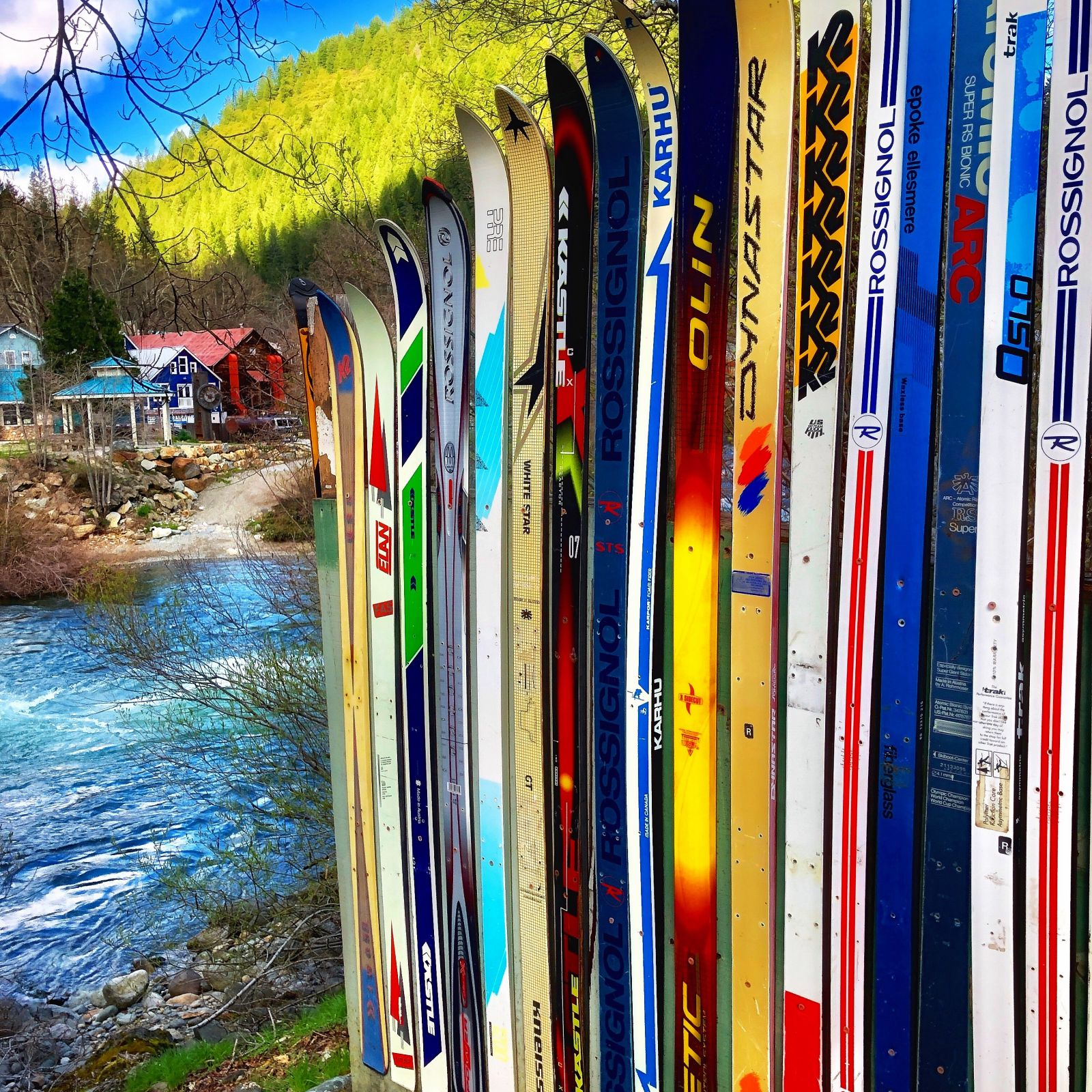 ski-poles-downieville-california