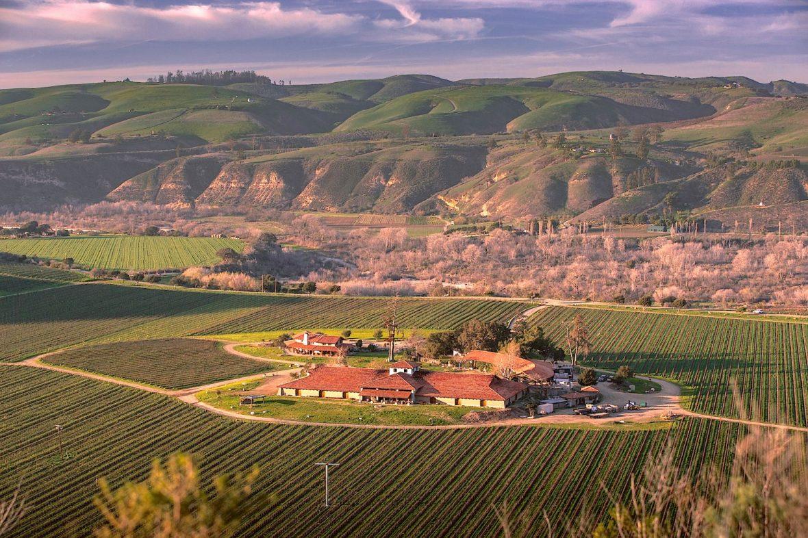 Sanford Winery Jeremy Ball Photo vineyards and winery