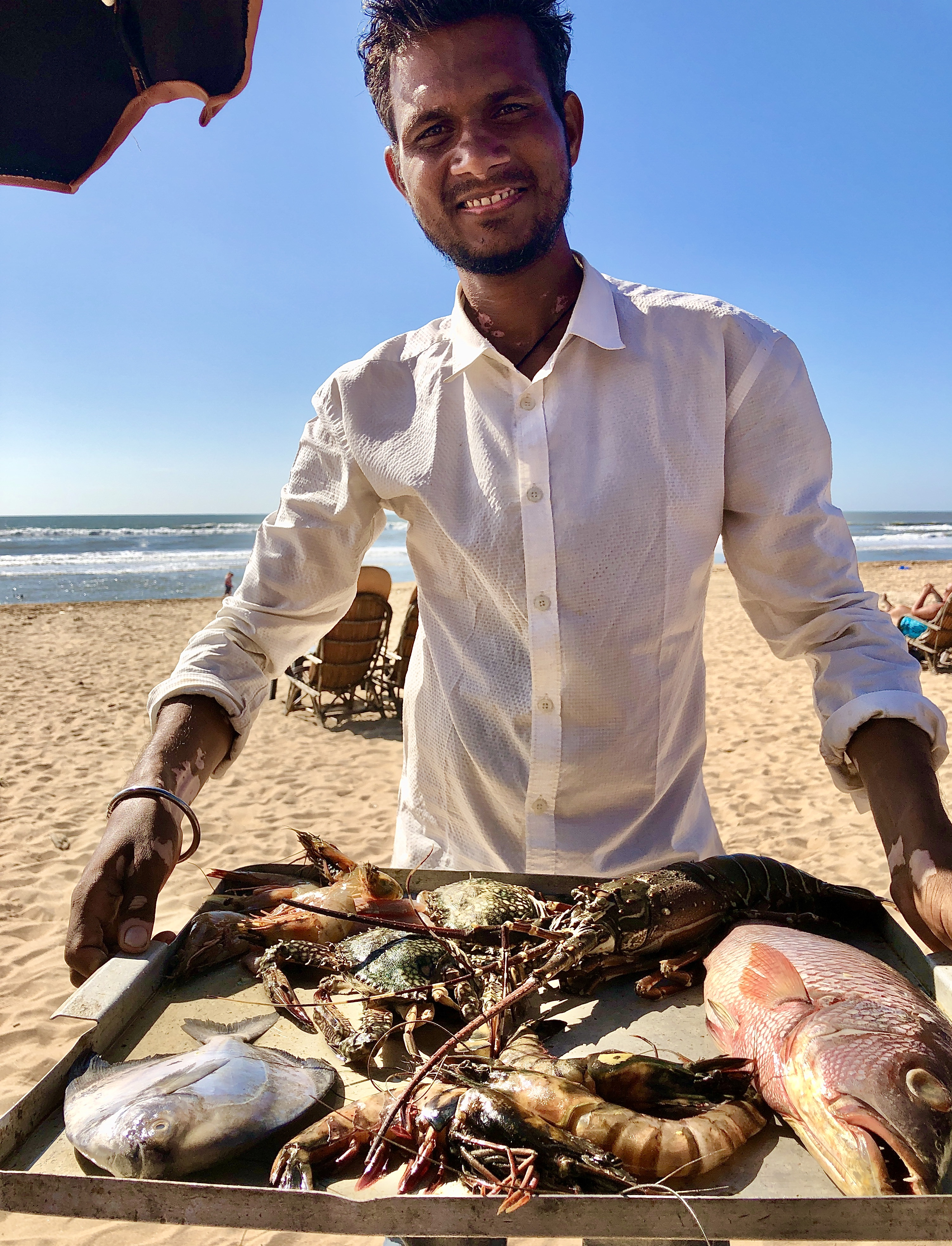 indian-summer-fish-baga-beach-goa